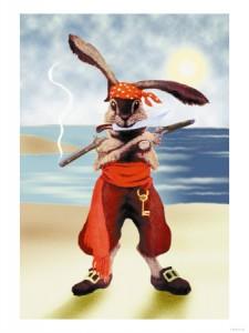 0-587-15570-1rabbit-pirate-posters
